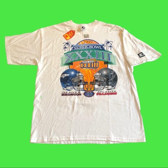 STARTER Other - 🏈SOLD🏈 NWT Vintage 1999 NFL Super Bowl Tee